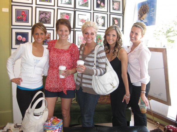 Danielle, Jenny, Jillian, Jenea and Adrienne