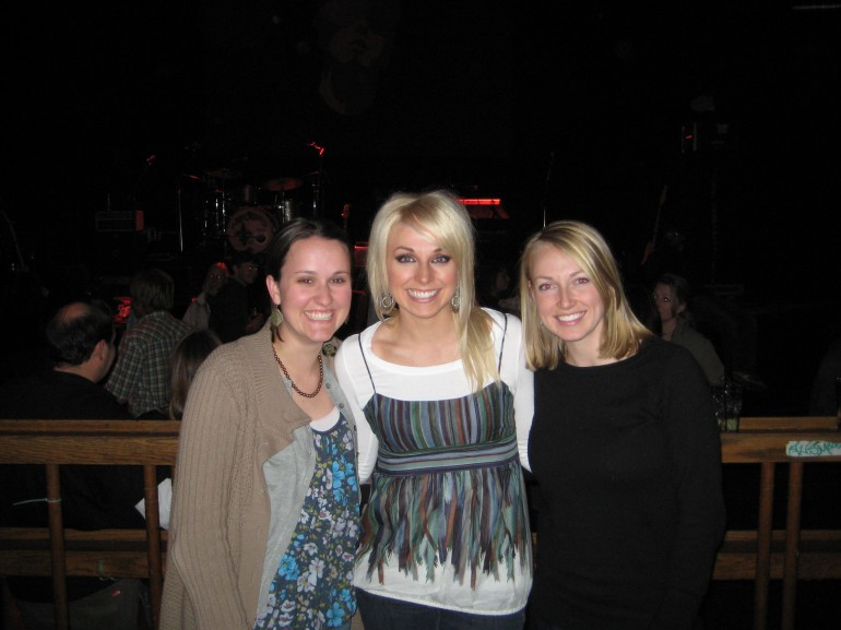 Marlin, Jillian and Chelsey