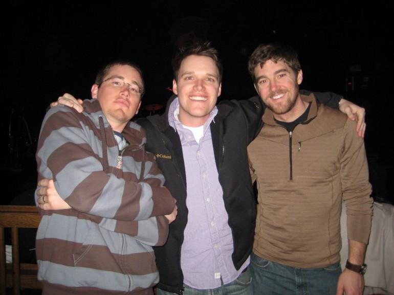 Joel, Coleman and Jason