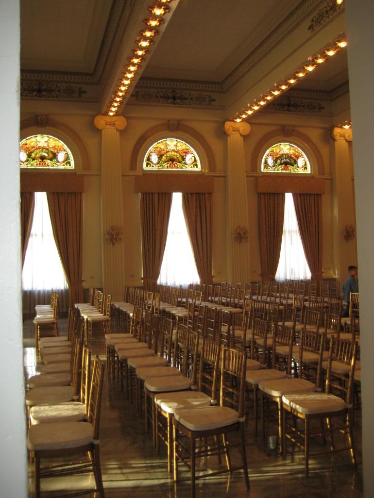 The venue: The Westin Columbus Ballroom