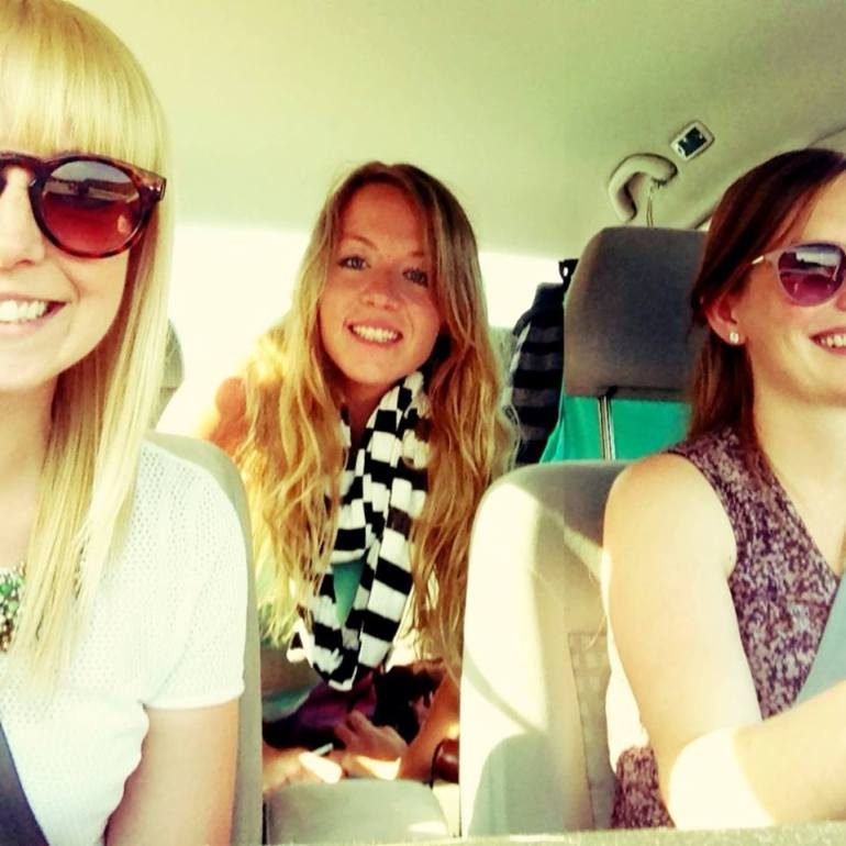 Road trippin' to Nashville with Hollyn and Courtney